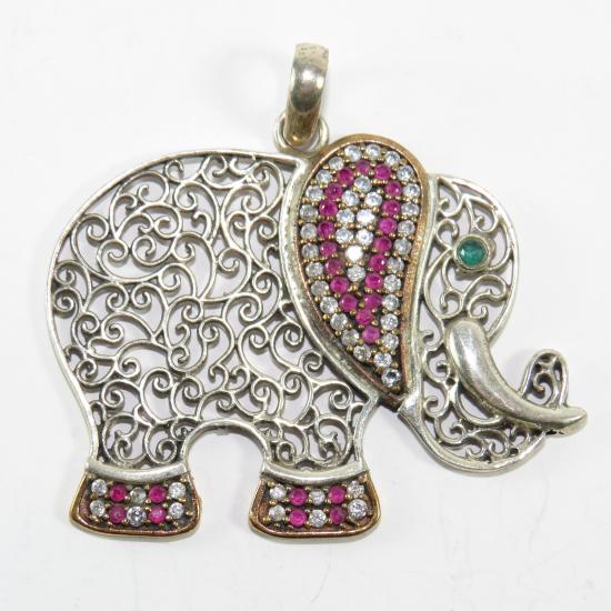 Ciondolo elefante