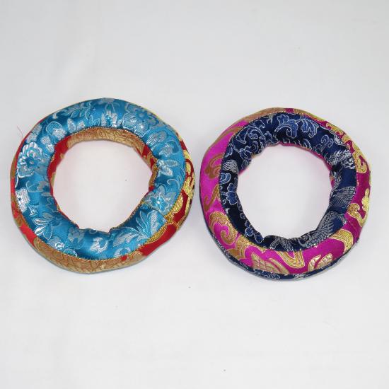 Cuscino per campana bicolore 13cm
