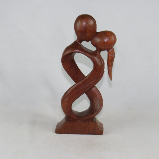 Statua amorini a spirale 25 cm