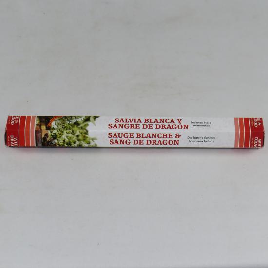 Incensi Green tree -  Salvia bianca e sangue di drago
