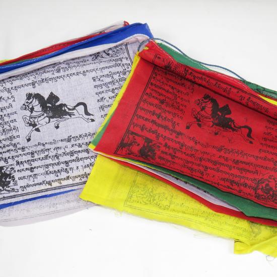 Bandierine tibetane 18 cm