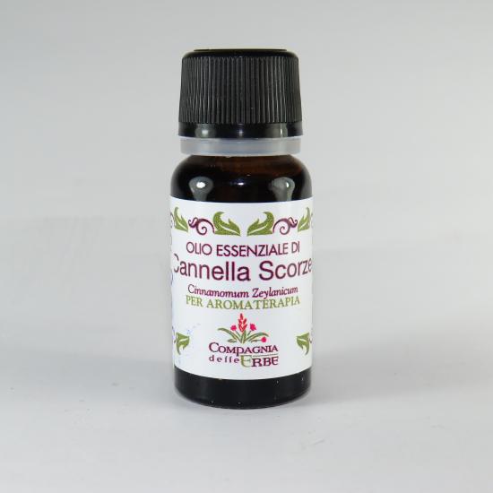 Olio essenziale CANNELLA SCORZE (Cinnamomum Zeylanicum)