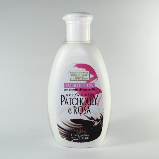Bagno doccia patchouly e rosa