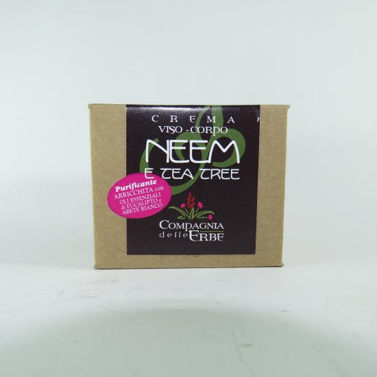 Crema al Neem e Tea Tree