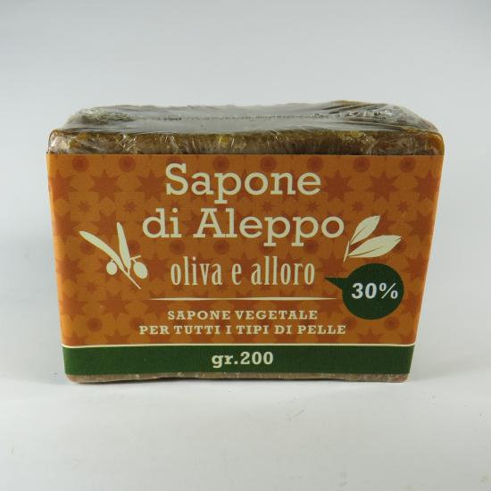 Sapone di Aleppo con olio di alloro al 30%
