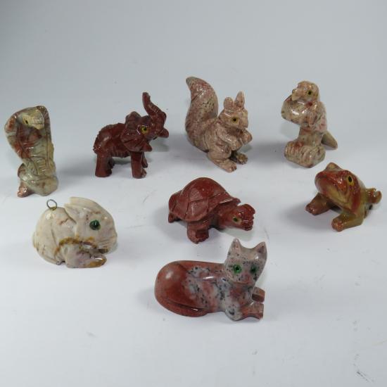 Animaletti pietra saponaria