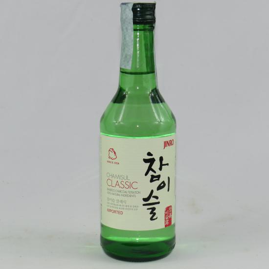 Soju Coreano Chamisul Classic