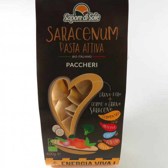 SARACENUM Pasta Attiva - Paccheri BIO