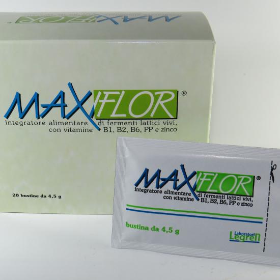 MAXIFLOR fermenti lattici ad alto dosaggio