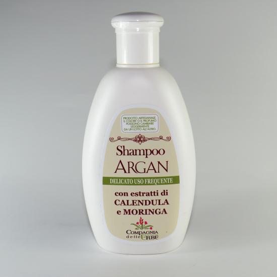 Shampoo con olio di argan