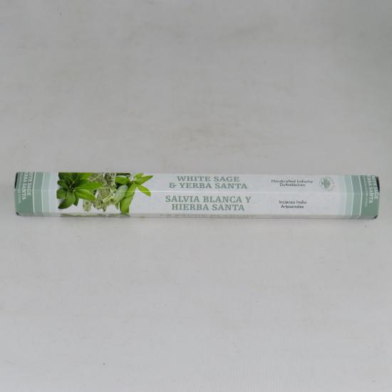 Incensi Green tree - Salvia bianca ed Erba santa