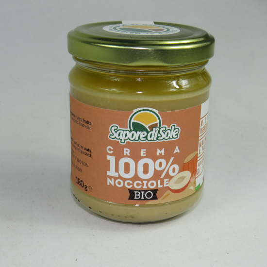 100% Crema di Nocciole BIO