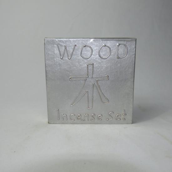 Set incensi wood