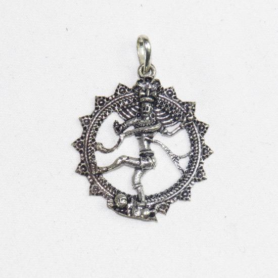 Ciondolo Shiva color argento