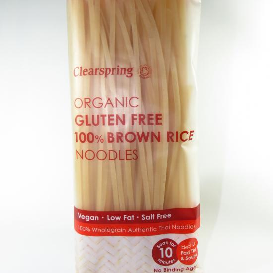 Noodles BIO 100% riso integrale senza glutine