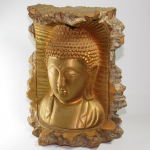 Buddha nel tronco