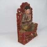 Buddha sul trono