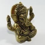 Ganesh ottone in miniatura
