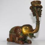 Elefante portacandela