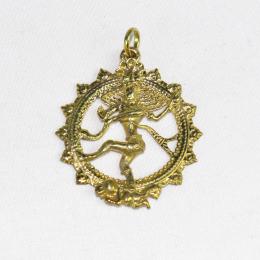Ciondolo Shiva color oro